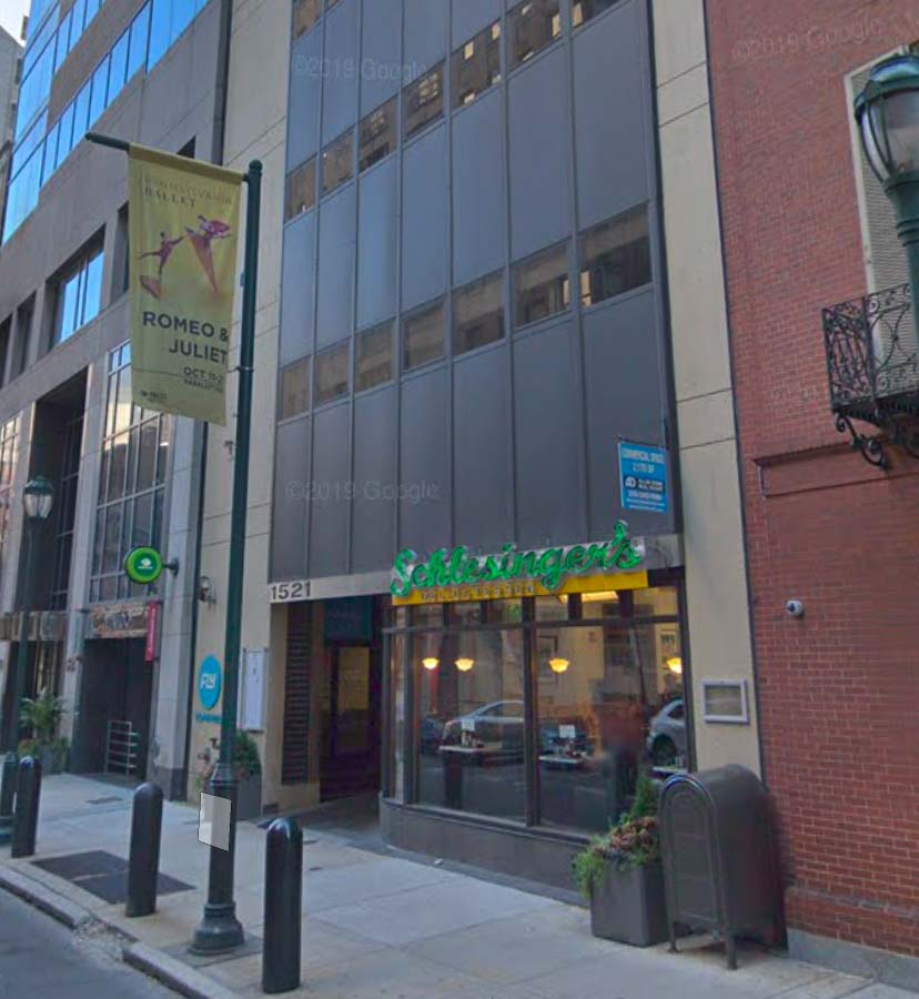 1521 Building Entrance