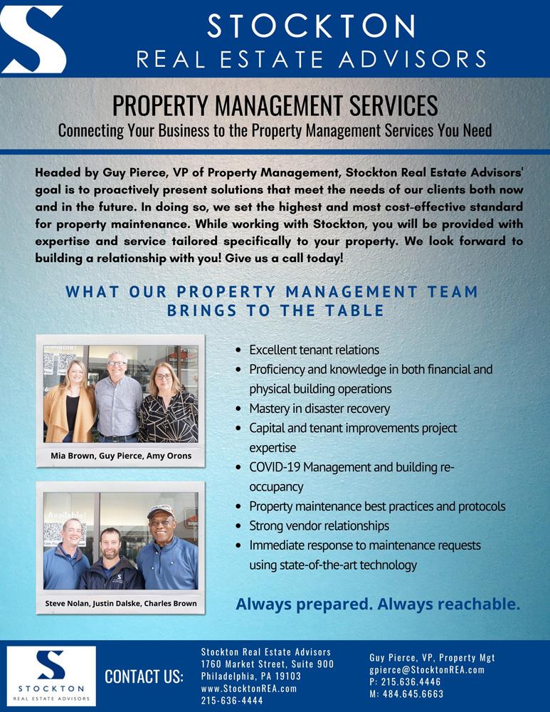 Property Management Services Flier